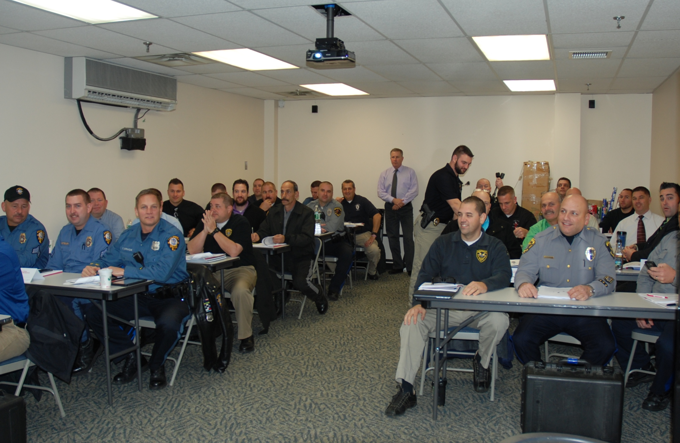 Manchester Police Host County Wide Technician Training