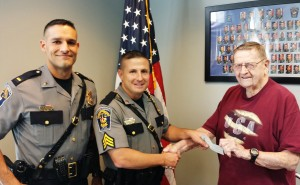 Lt Vincent Manco, Sgt James Komsa, and Edward Loughman